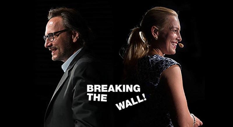 Peter Brandl Breaking The Wall